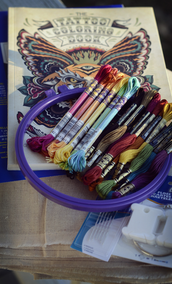 Butterfly Embroidery Supplies