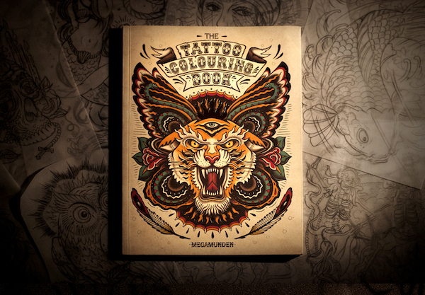 The Tattoo Coloring Book cover