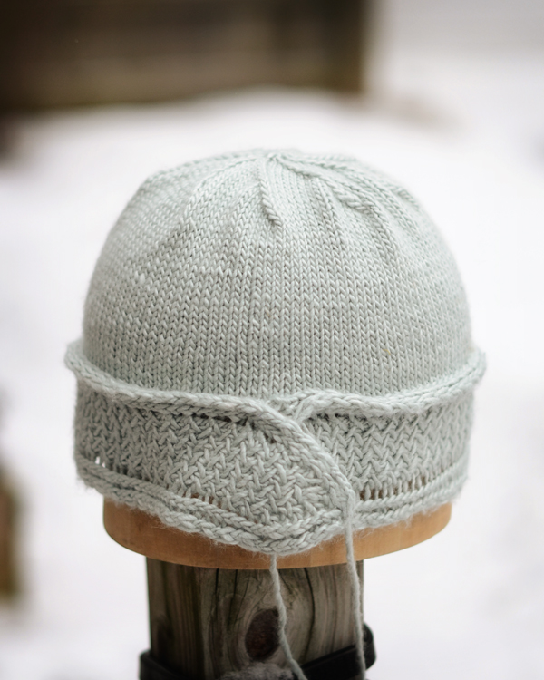 lt grey hat